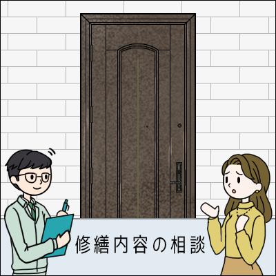 ドアデザインの参考画像